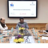 The Union Minister for Petroleum & Natural Gas and Skill Development & Entrepreneurship, Shri Dharmendra Pradhan addressing at the signing ceremony of a tripartite MoU between NSDC, Tourism and Hospitality Sector Skill Council and Airbnb to Upskill Hospitality Entrepreneurs, in New Delhi on November 28, 2017.