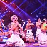 Artists performing at the inaugural ceremony of the 48th International Film Festival of India (IFFI-2017), in Panaji, Goa on November 20, 2017.