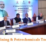 The Union Minister for Petroleum & Natural Gas and Skill Development & Entrepreneurship, Shri Dharmendra Pradhan addressing the interactive meet on Skill Development initiatives in Hydrocarbon Sector, in Bhubaneswar, Odisha on January 13, 2018. The Secretary, Ministry of Petroleum and Natural Gas, Shri K.D. Tripathi and other dignitaries are also seen.